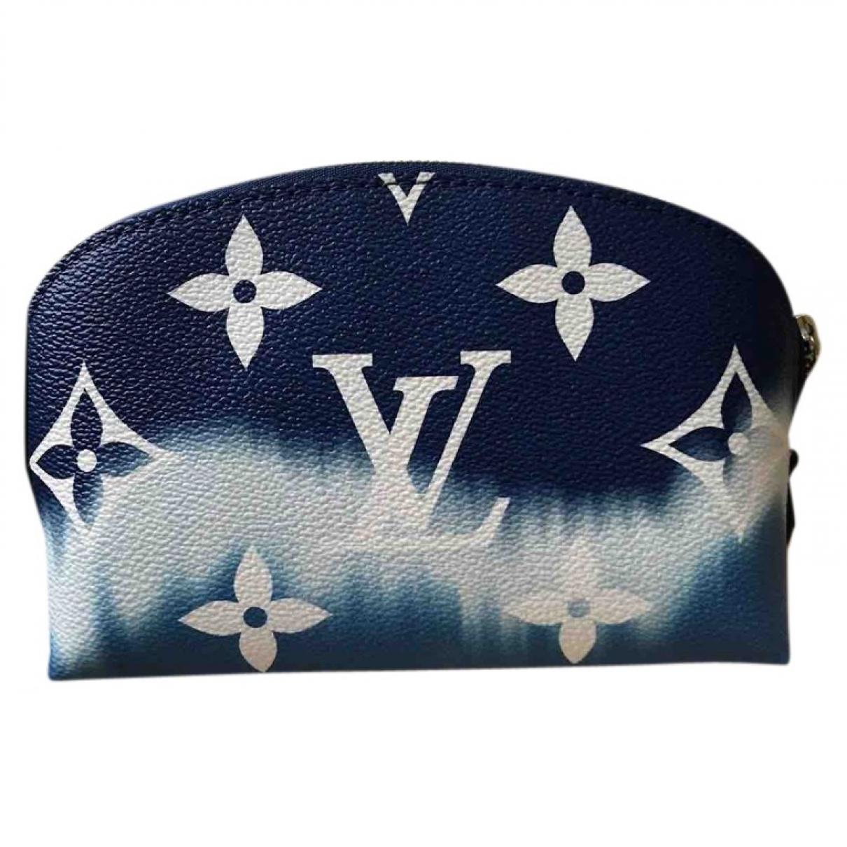Louis Vuitton \N Blue Cloth Travel bag for Women \N