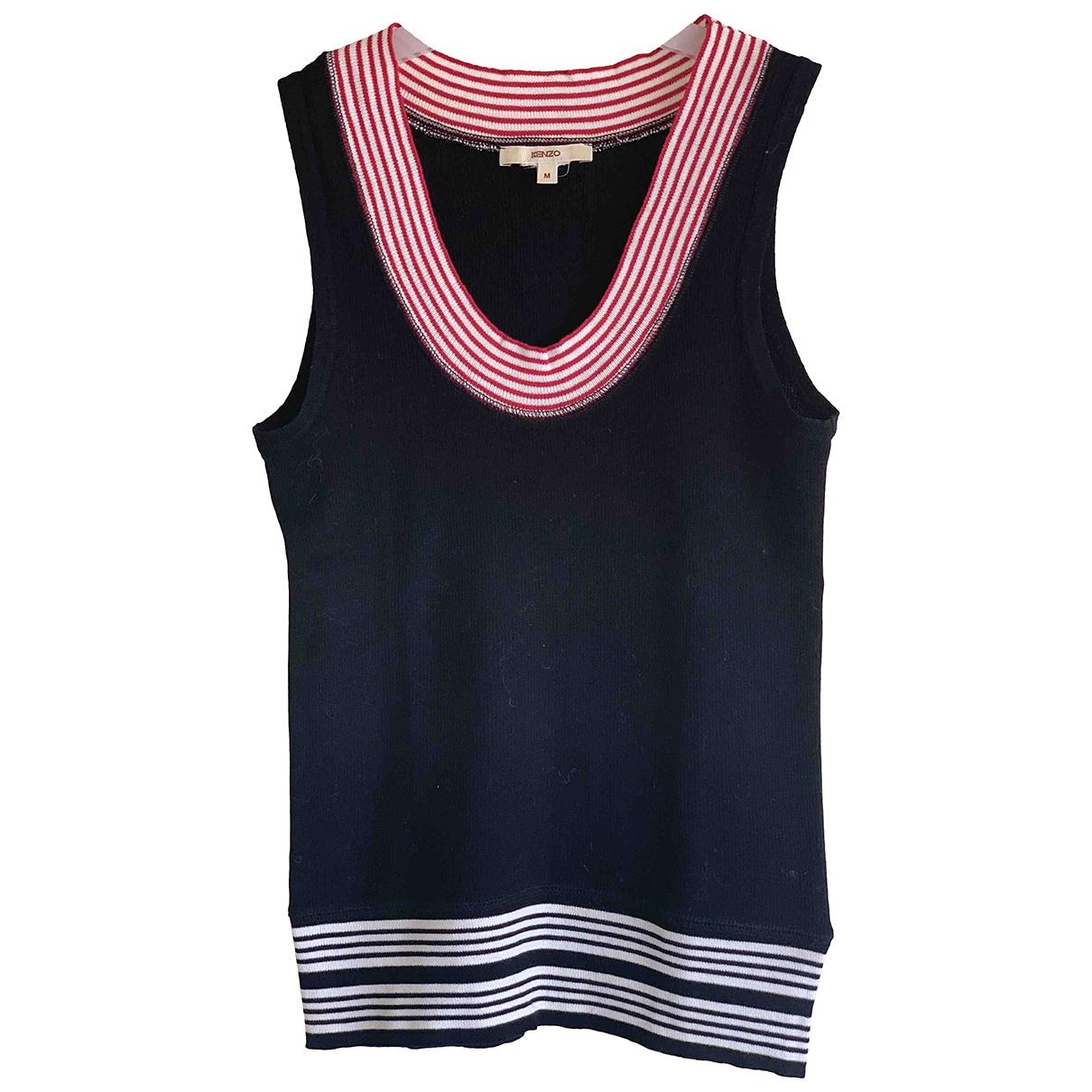 Kenzo \N Black Cotton  top for Women 38 FR