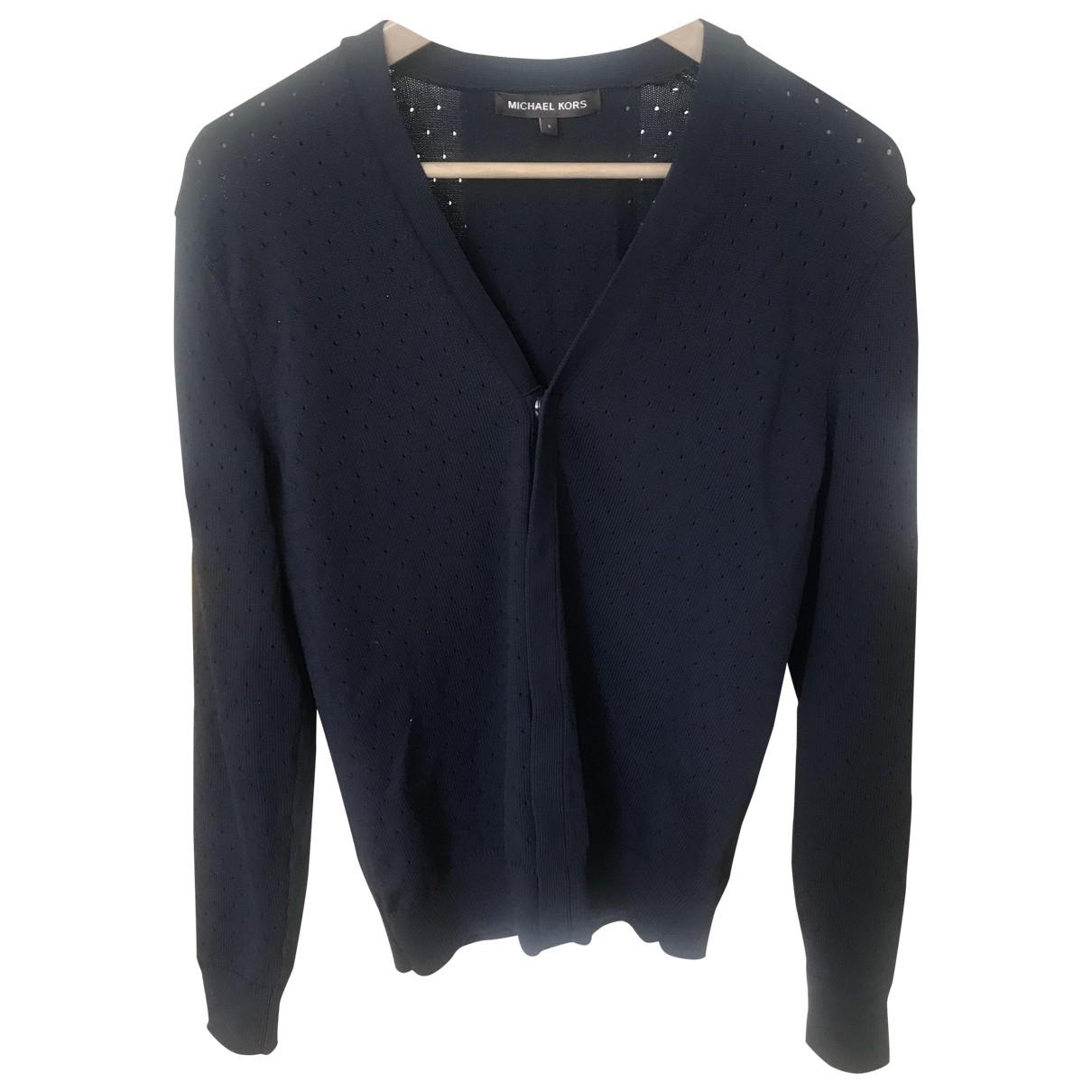 Michael Kors \N Pullover.Westen.Sweatshirts  in  Blau Synthetik