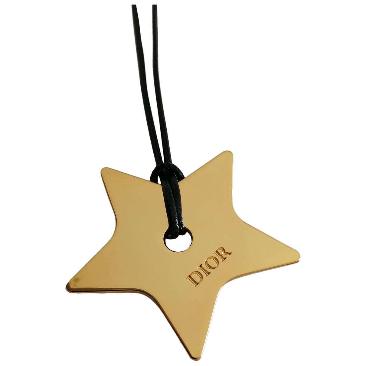 Dior N Gold Metal pendant for Women N