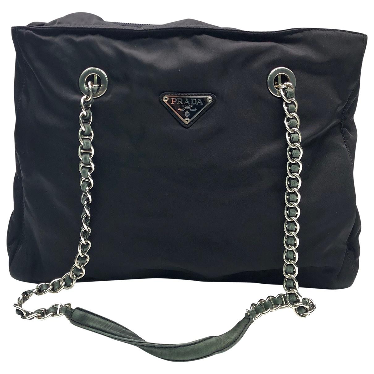 Prada N Black handbag for Women N