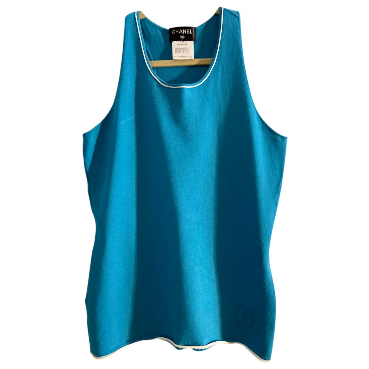Chanel N Turquoise  top for Women 44 FR