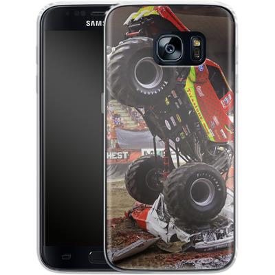 Samsung Galaxy S7 Silikon Handyhuelle - Snake Bite 2 von Bigfoot 4x4