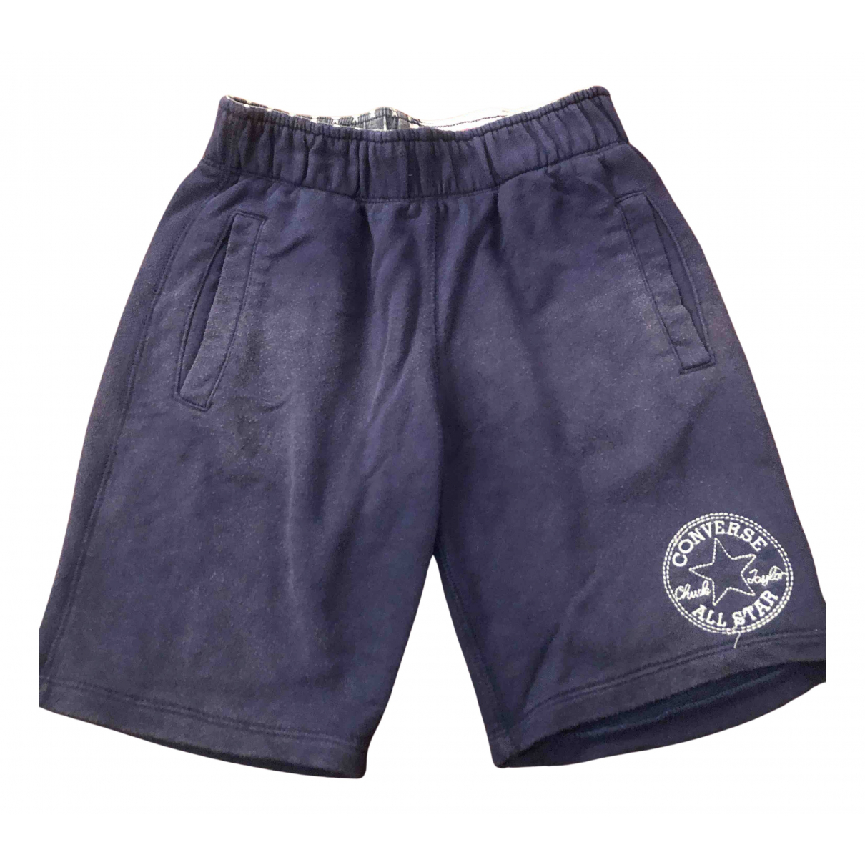 Converse N Blue Cotton Shorts for Kids 10 years - up to 142cm FR