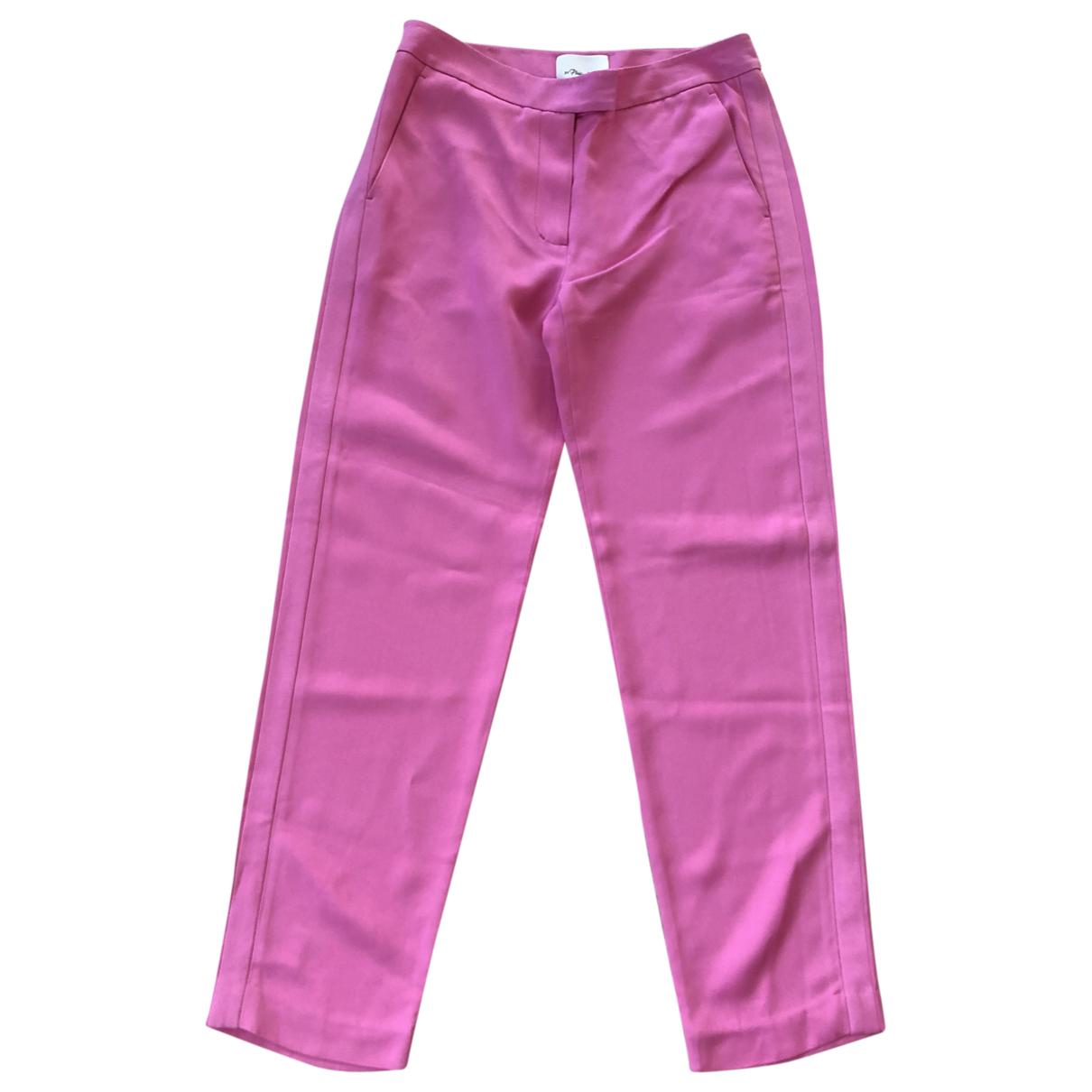 Pantalon en Viscosa Rosa 3.1 Phillip Lim