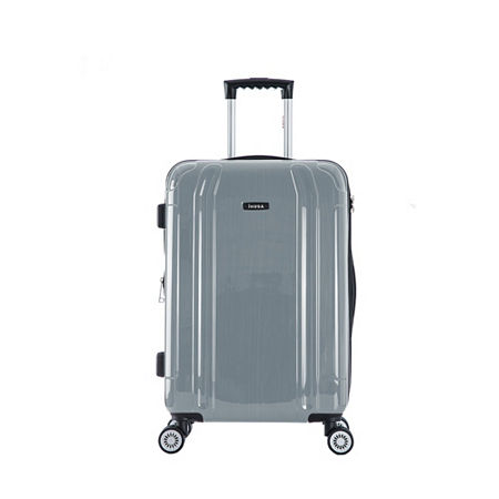 InUSA Southworld Lightweight Hardside 23 Inch Spinner Luggage, One Size , Silver