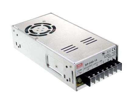 Mean Well , 240W Embedded Switch Mode Power Supply SMPS, 24V dc, Enclosed