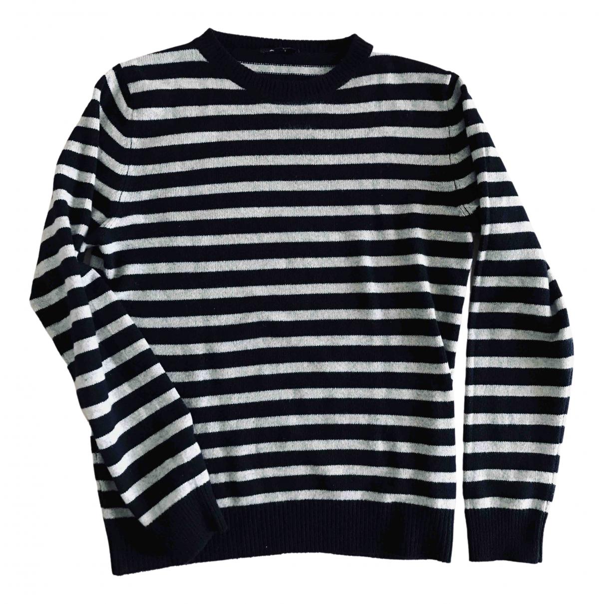 Apc \N Pullover.Westen.Sweatshirts  in  Blau Kaschmir