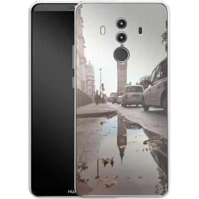 Huawei Mate 10 Pro Silikon Handyhuelle - Double Ben von Ronya Galka