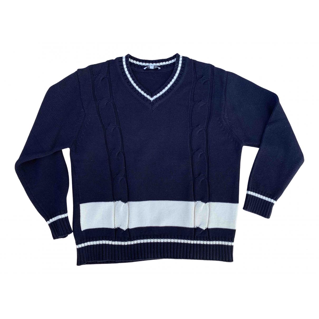 Bally \N Blue Cotton Knitwear for Women 38 FR