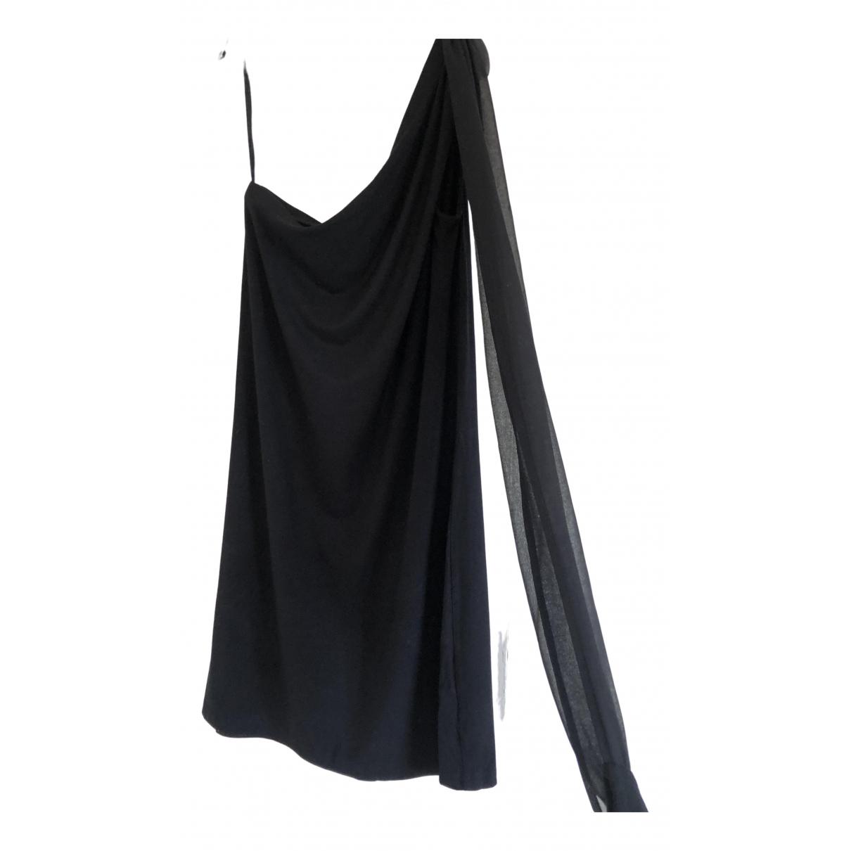 Twin Set - Robe   pour femme en coton - noir