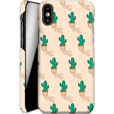 Apple iPhone XS Smartphone Huelle - Cactus Pot von caseable Designs