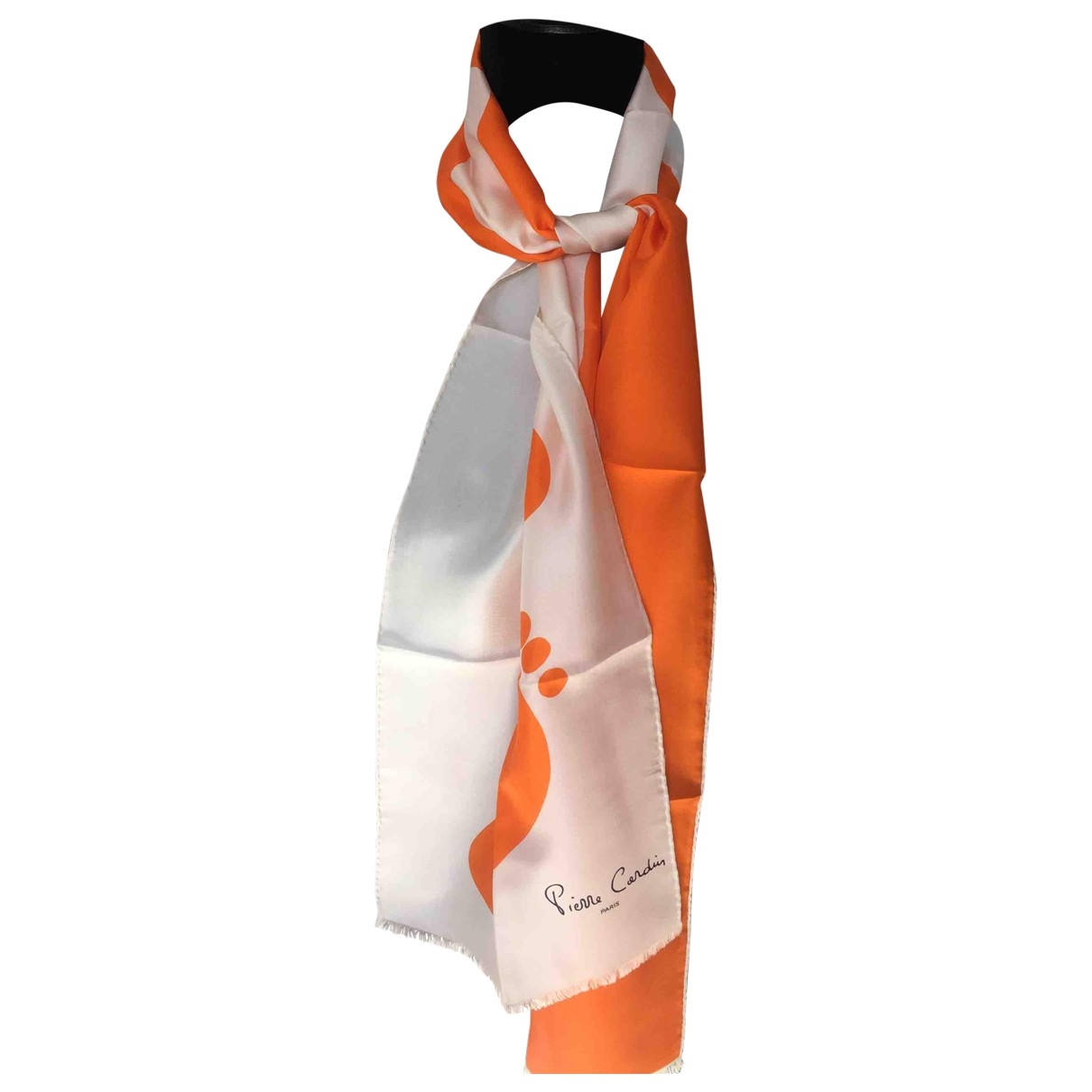 Pierre Cardin \N White Silk scarf for Women \N