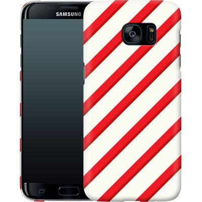 Samsung Galaxy S7 Edge Smartphone Huelle - Candy Cane von caseable Specials