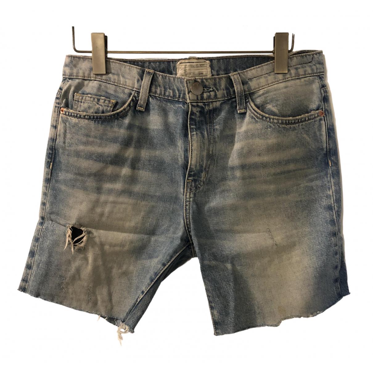 Current Elliott \N Blue Denim - Jeans Trousers for Women 10 US