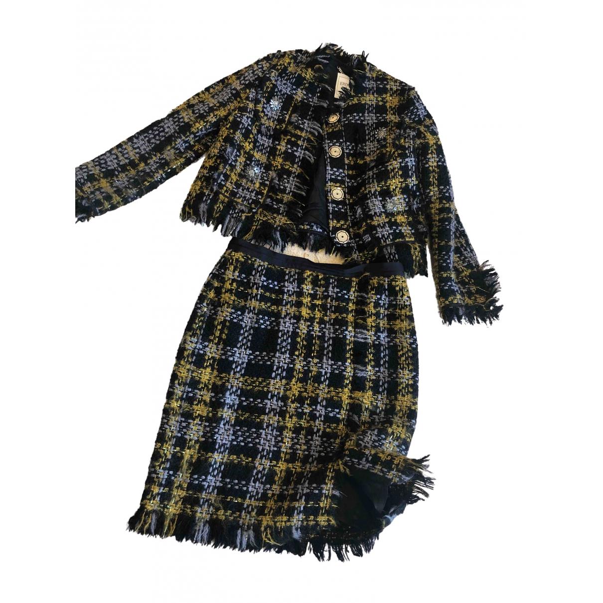 Erdem X H&m \N Multicolour Wool jacket for Women 38 FR