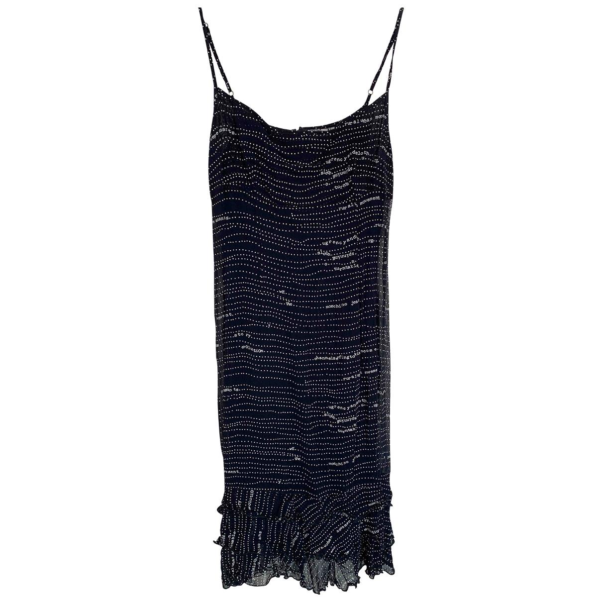 Moschino \N Kleid in  Blau Viskose