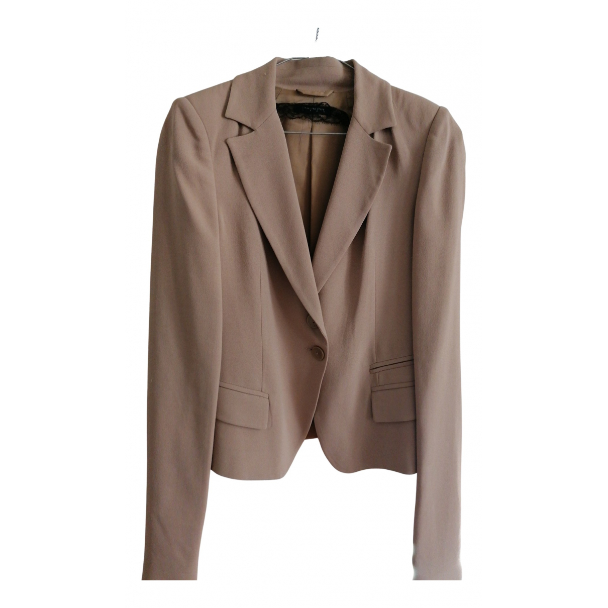 Patrizia Pepe N Pink jacket for Women 42 IT