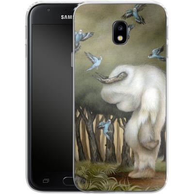 Samsung Galaxy J3 (2017) Silikon Handyhuelle - Until We Meet Again von Dan May