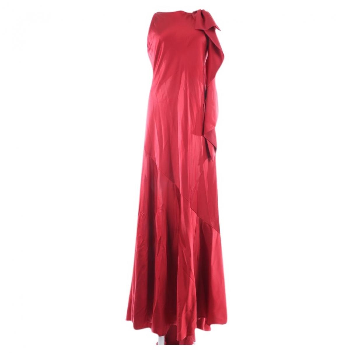 Talbot Runhof - Robe   pour femme - rouge