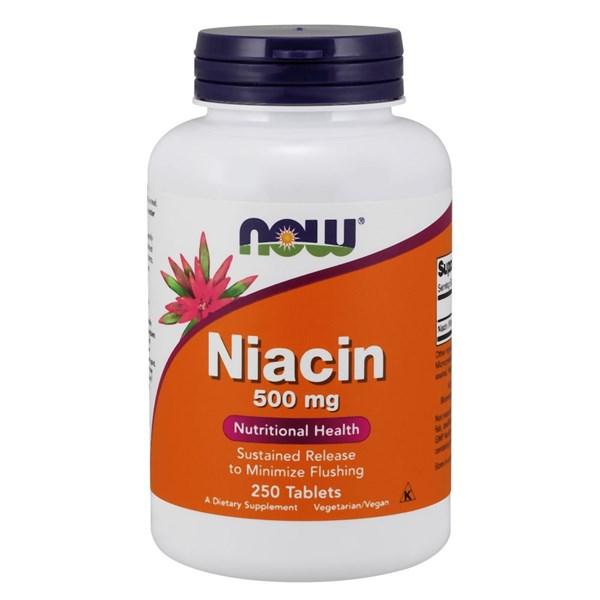 Niacin Tr 250 Tabs by Now Foods