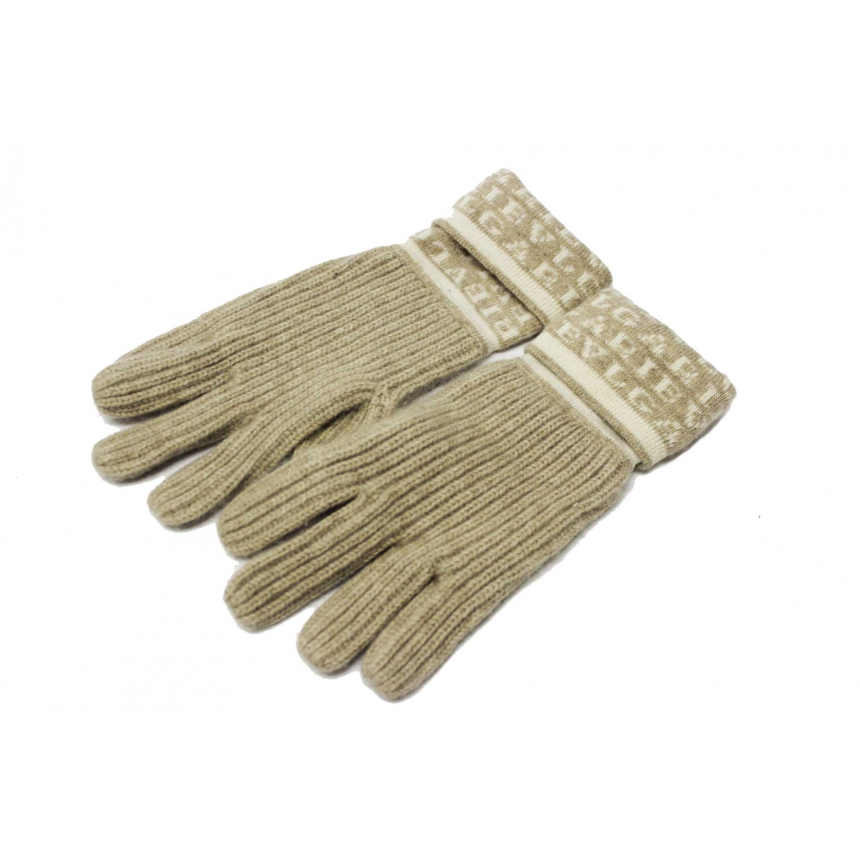 Bvlgari \N Beige Cashmere Gloves for Women M International