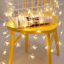 20 Stuecke Lichterkette in Schmetterlingform mit Gluehbirnen