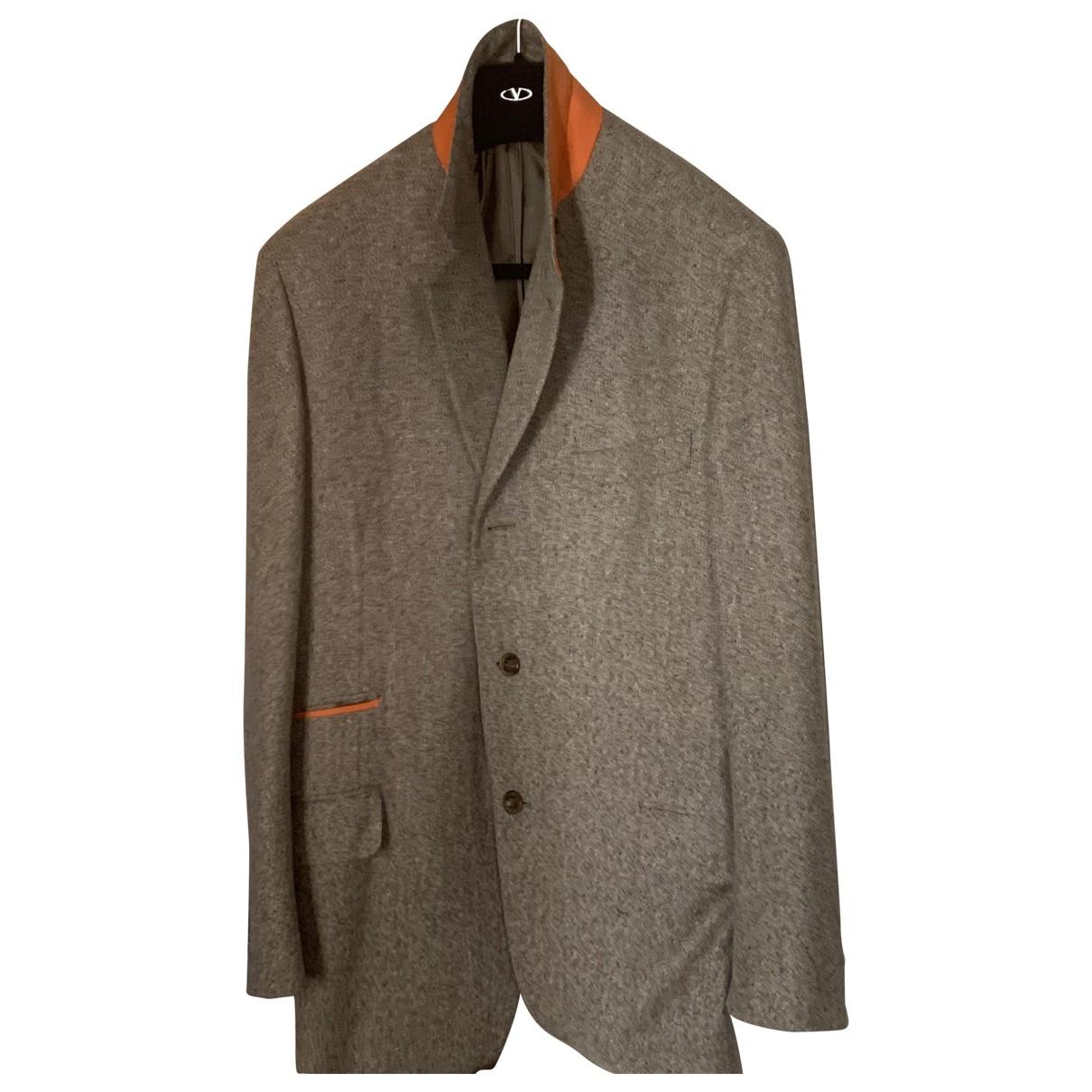 Hermes - Vestes.Blousons   pour homme en laine - beige