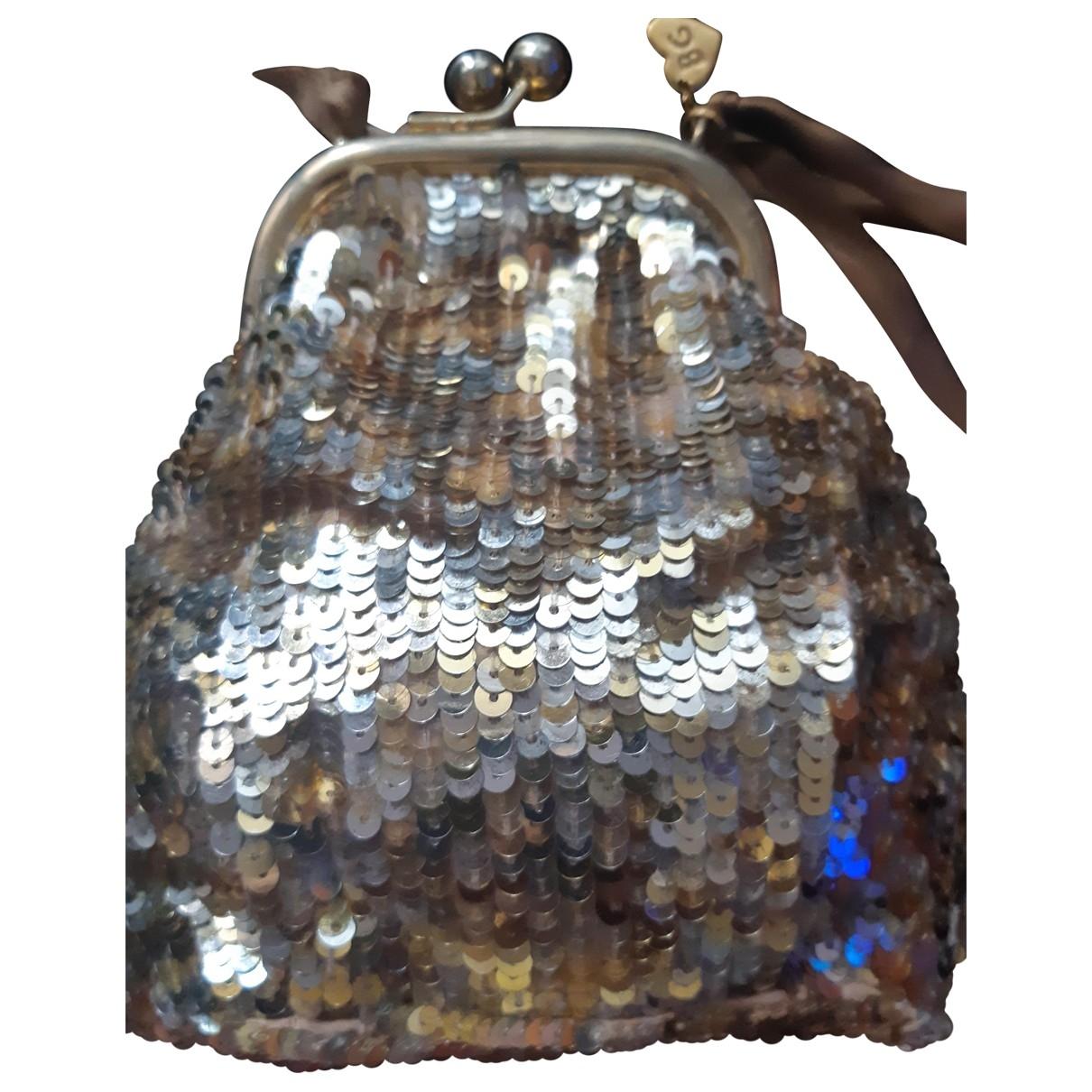 Blumarine \N Handtasche in  Gold Mit Pailletten