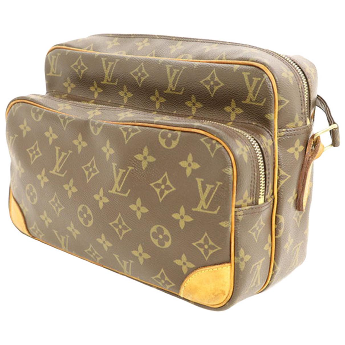 Louis Vuitton - Sac a main   pour femme en cuir - marron