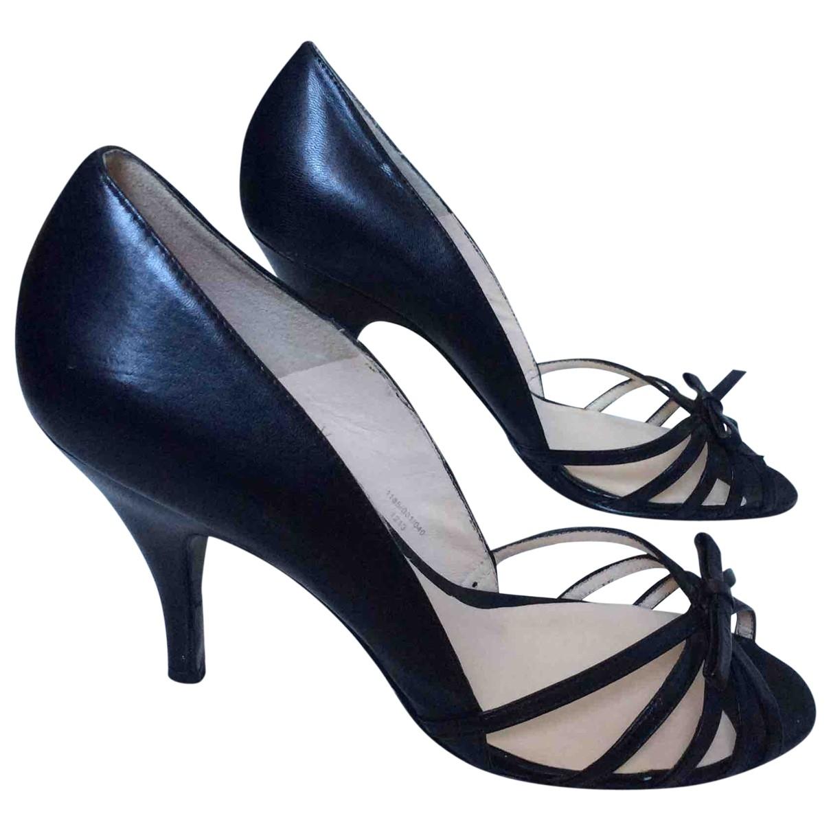 Zara \N Black Heels for Women 38 EU