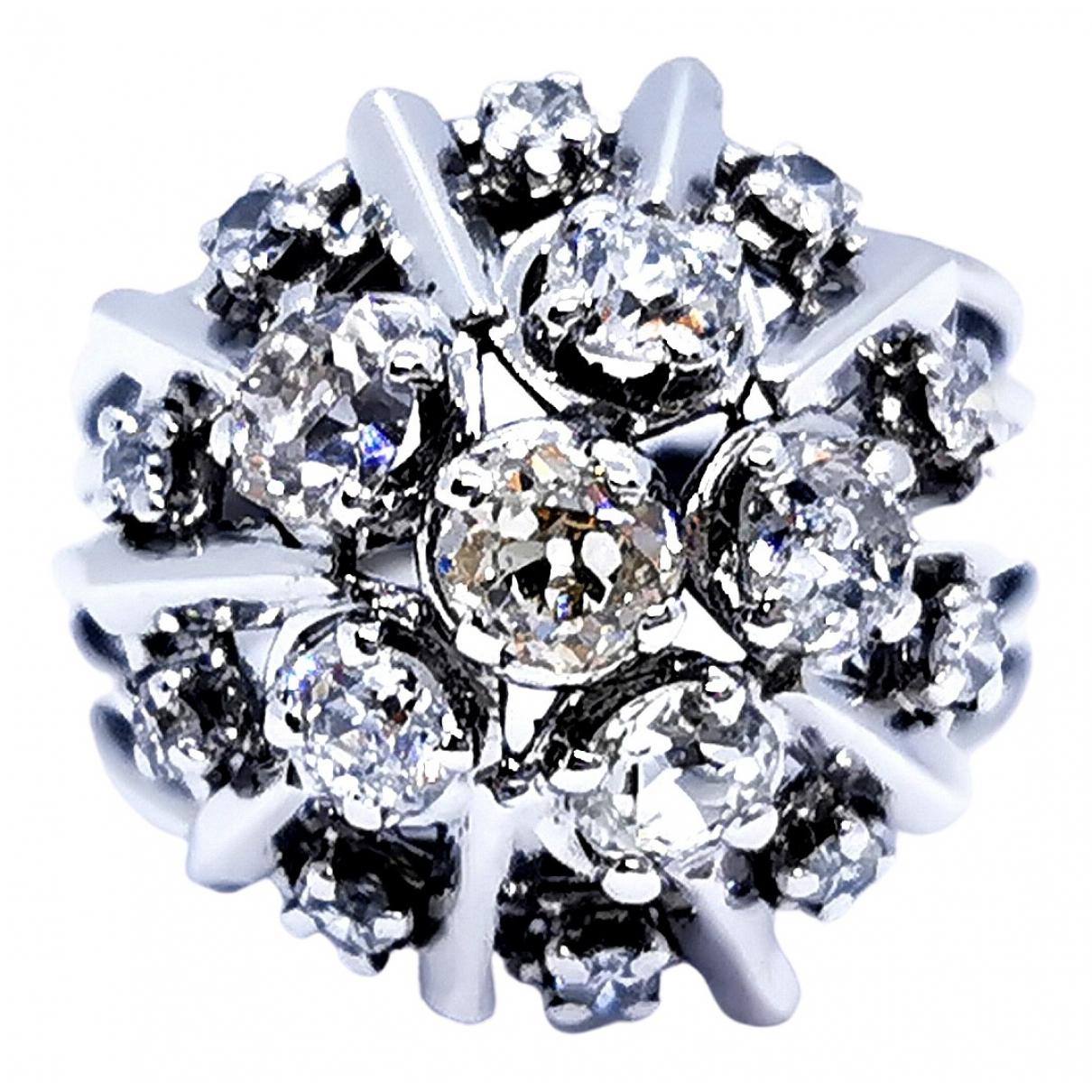 Autre Marque \N Silver White gold ring for Women 51 EU