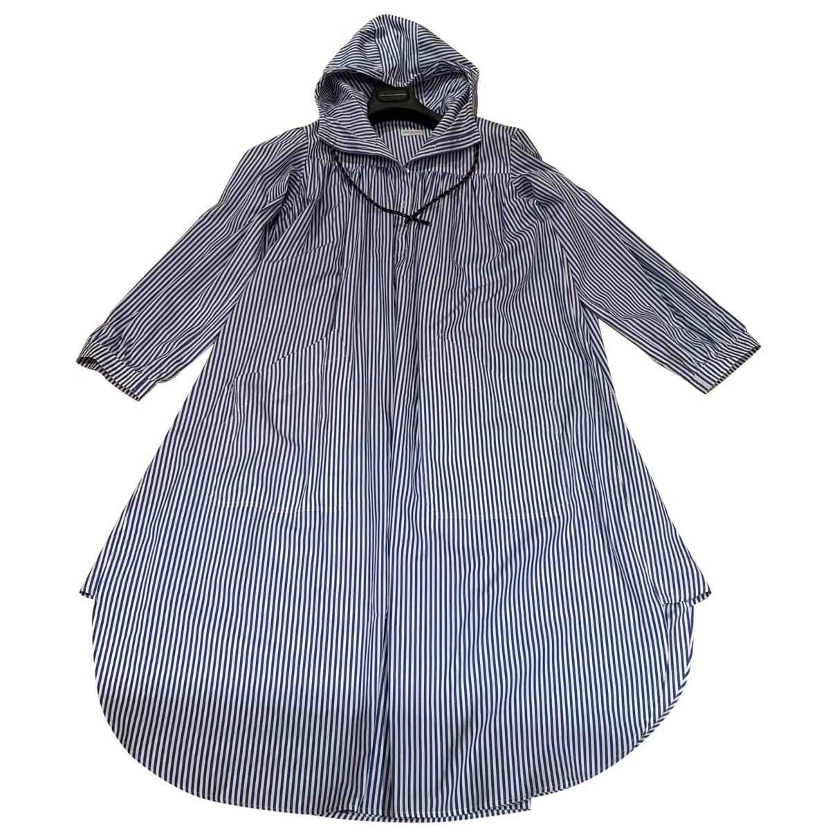 Dries Van Noten \N Blue Cotton dress for Women M International
