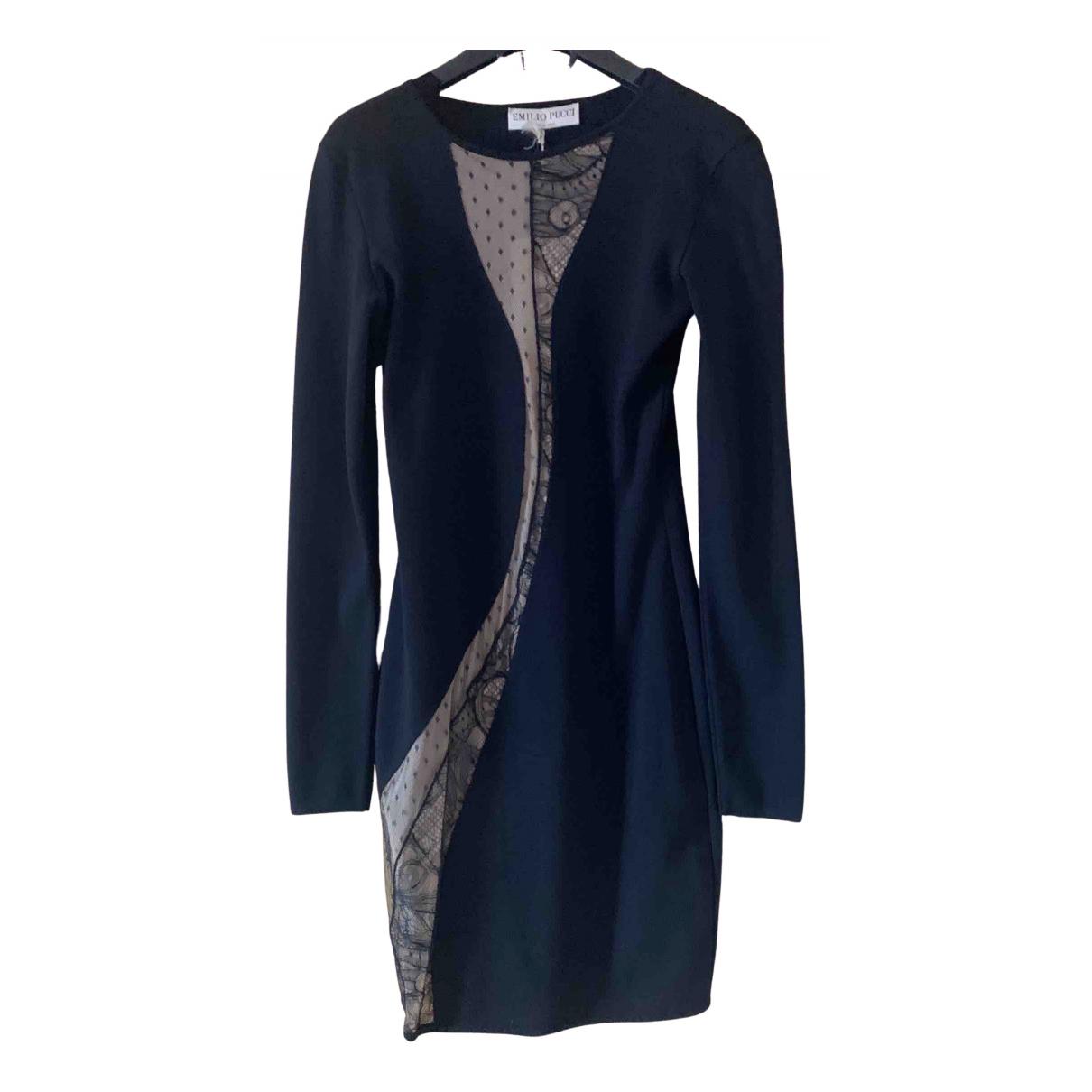 Emilio Pucci N Black Wool dress for Women S International