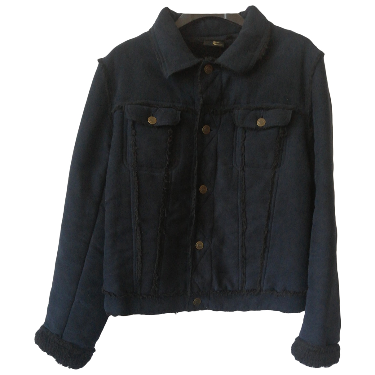 Just Cavalli \N Blue jacket for Women XL International
