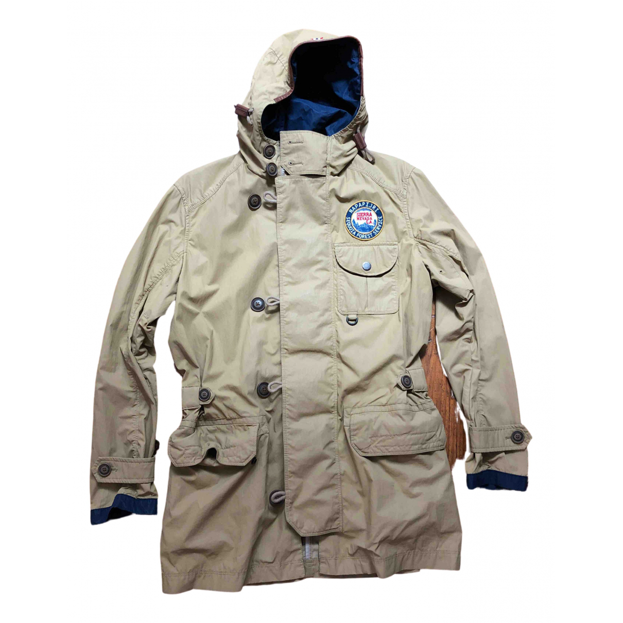 Napapijri \N Beige Cotton jacket  for Men S International