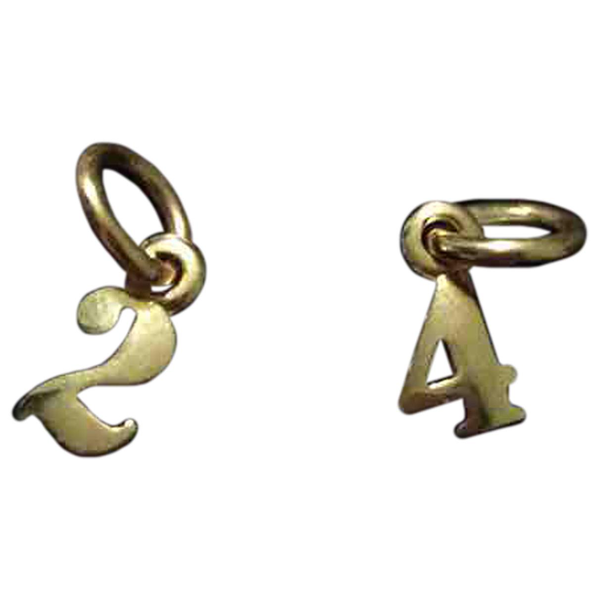 Dodo Pomellato Lettres & Numeros Armband in  Rosa Rosegold