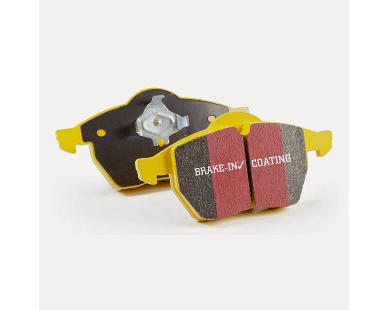 EBC Brakes DP41653R Yellowstuff Our Flagship range Front Disc Brake Pad Set FMSI D777 Ford