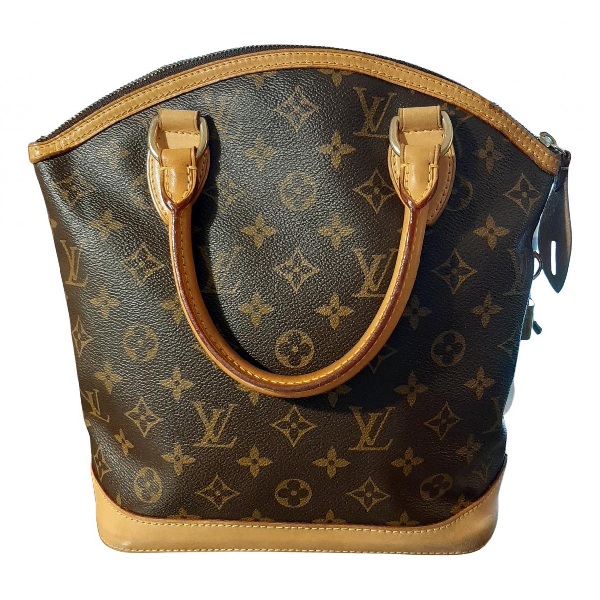 Bolso  Lockit Vertical de Lona Louis Vuitton