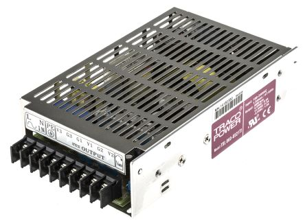 TRACOPOWER , 60W Embedded Switch Mode Power Supply SMPS, ±5 V dc, ±12 V dc, Enclosed