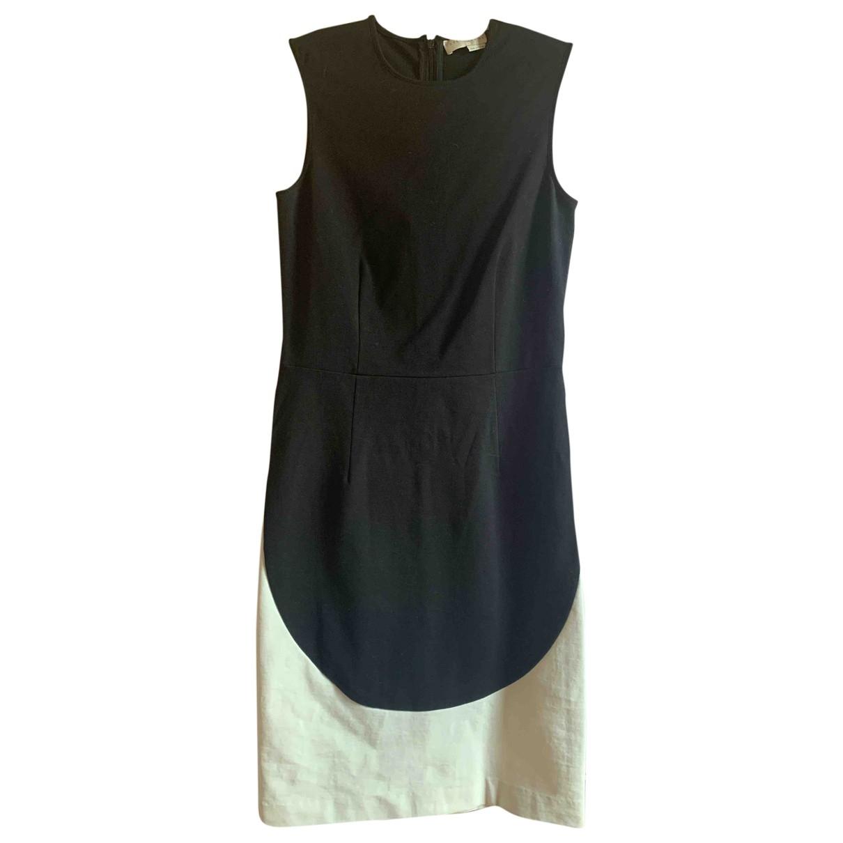 Stella Mccartney \N Black Cotton - elasthane dress for Women 46 IT
