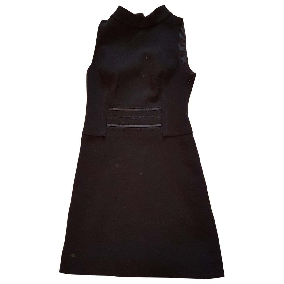 Versace \N Kleid in  Blau Wolle