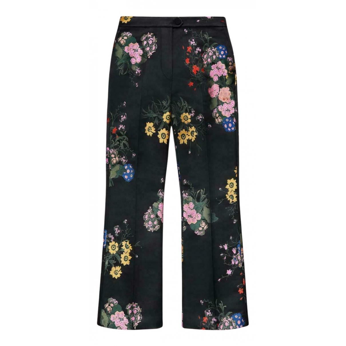Erdem X H&m N Black Trousers for Women 10 UK