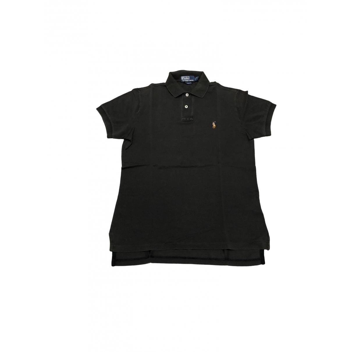 Polo Ralph Lauren - Polos Polo ajuste manches courtes pour homme en coton - noir
