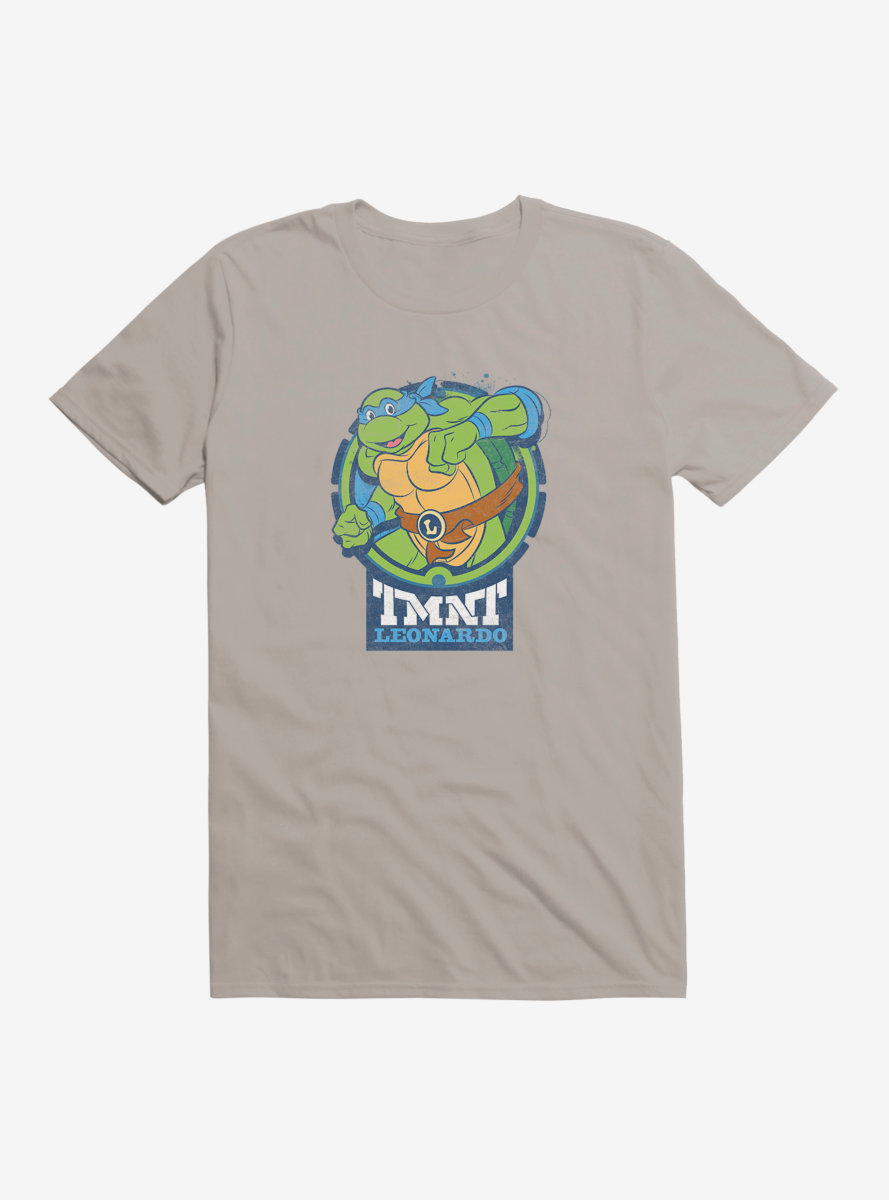 Teenage Mutant Ninja Turtles Leo Badge T-Shirt