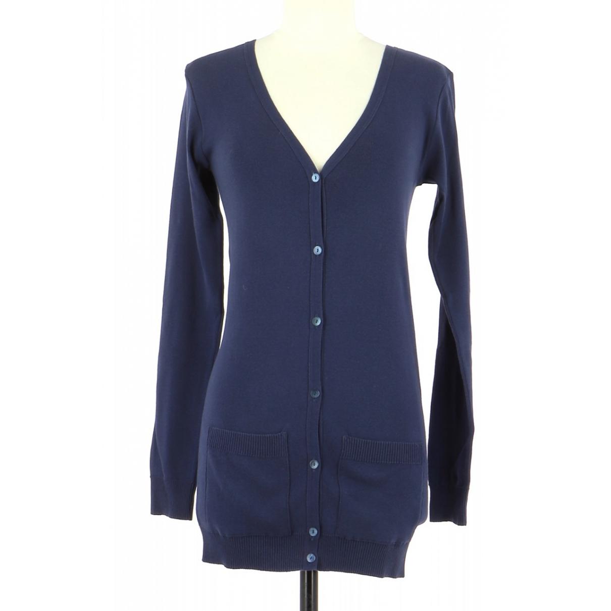 Agnes B. \N Pullover.Westen.Sweatshirts  in  Marine Baumwolle