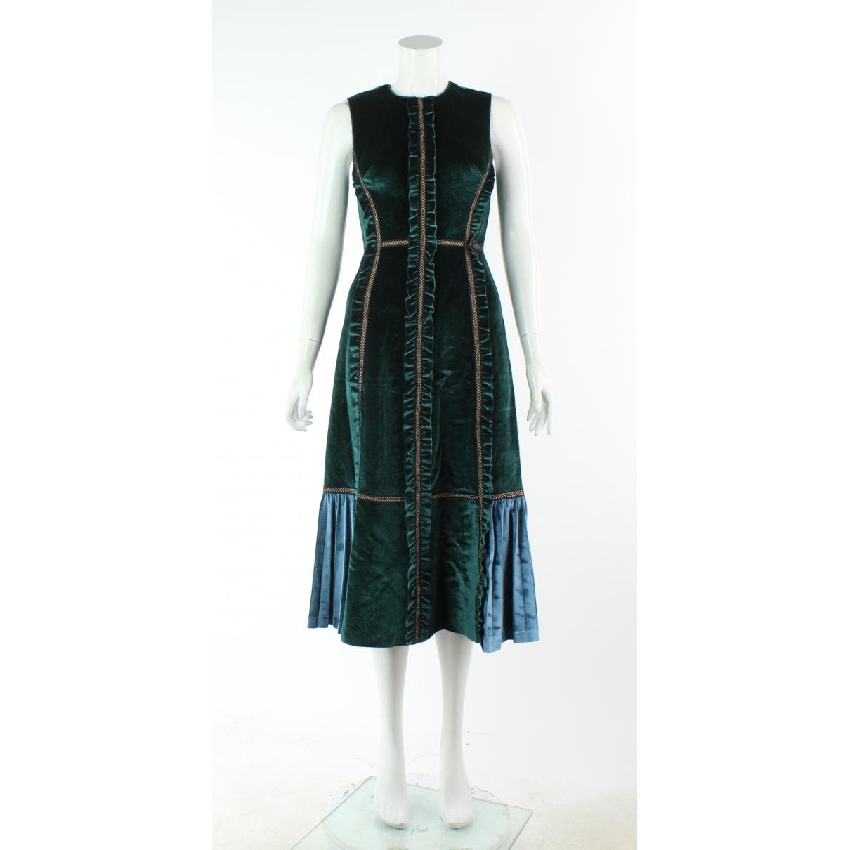 Autre Marque \N Multicolour Velvet dress for Women 6 UK