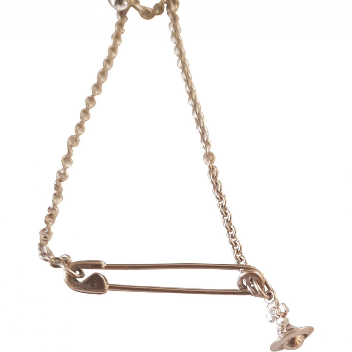 Vivienne Westwood \N Silver White gold bracelet for Women \N