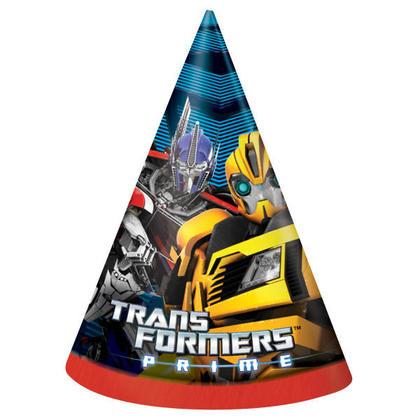 Transformers 8 Party Hats Pour la fête d'anniversaire