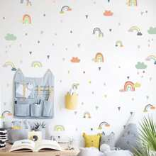 Pegatina de pared con estampado